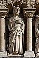Paris - Cathédrale Notre-Dame -Galerie des rois - PA00086250 - 025.jpg