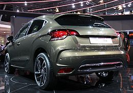 Paris - Mondial de l'automobile 2010 - Citroën DS4 - 001.JPG