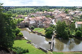 Parthenay Saint-Paul from the battlements.jpg