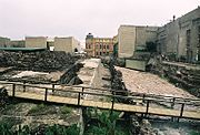 Partial view Templo Mayor