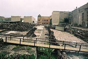 Mexico City - The ruins of the Templo Mayor