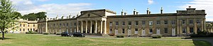 Partis College, Bath - Image: Partis College, panorama from quadrangle