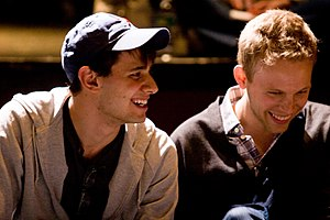 Pasek and Paul - Benj Pasek (left) and Justin Paul