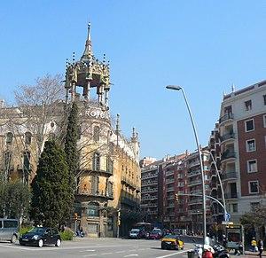 Passeig de sant gervasi viquip dia l 39 enciclop dia lliure - Placa kennedy barcelona ...