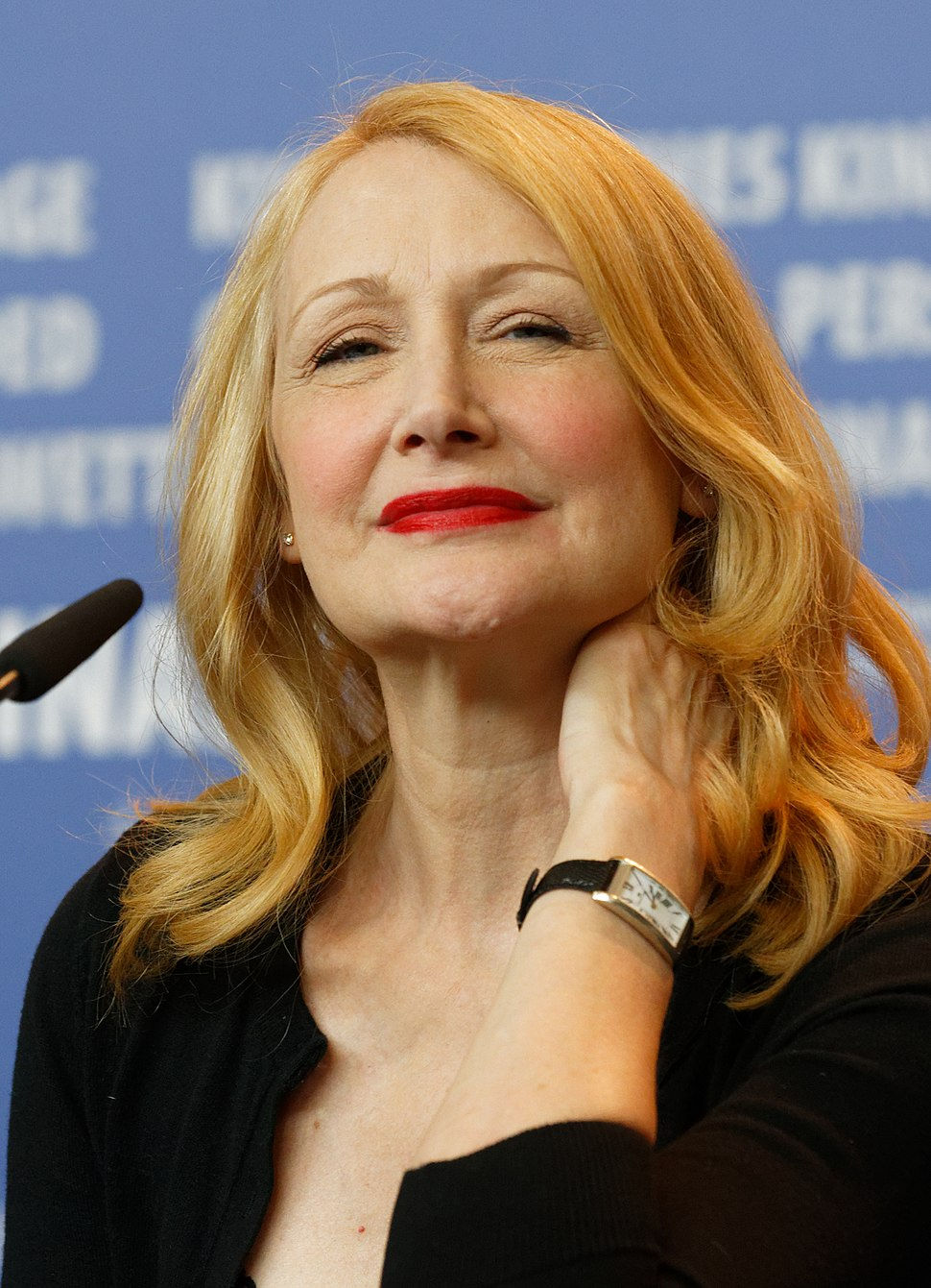 Patricia Clarkson Press Conference The Party Berlinale 2017 01 (cropped 2)