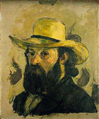 Self-Portrait in a Straw Hat