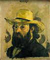 Paul Cézanne - Portrait de l'artiste au chapeau de paille - Google Art Project.jpg