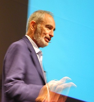 Paul R. Ehrlich - Ehrlich speaking in 2008