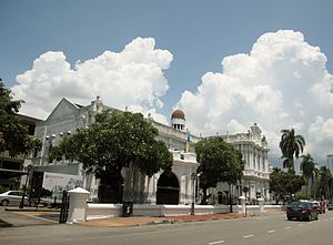 Penang Free School - The Penang State Museum at Farquhar Street in the city centre once housed Penang Free School.