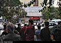People gathering outside the Jam Hospital following the death of Mohammad-Reza Shajarian 2020-10-08 37.jpg