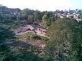 Pequeno córrego visto do viaduto ferroviário da Variante Boa Vista-Guaianã km 208 em Salto - panoramio.jpg
