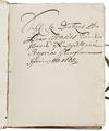 Per Brahe den yngres tänkebok, 1600-tal - Skoklosters slott - 100958.tif