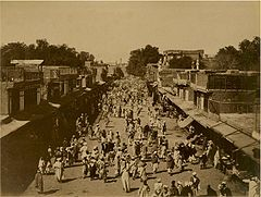 Peshawar City, India - Edwardes Gate, c 1870.jpg