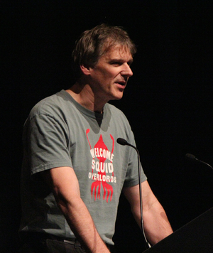 Peter Watts (author) - Peter Watts' acceptance speech at the 2010 Hugo Awards ceremony