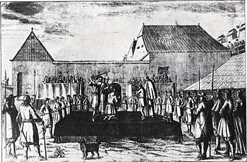 The execution of Zrinski and Frankopan