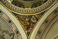 Petxina amb sant Lluc, capella del crist de la Fe, església de santa Mònica de València.JPG