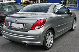 Peugeot 207 CC Facelift 20090906 rear.JPG