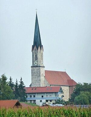 Taufkirchen, Mühldorf - Parish church of Saint Jacob