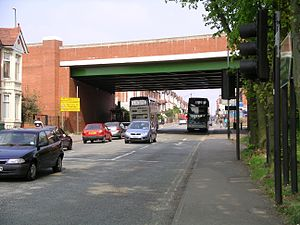 A444 road - Image: Phoenix way walsgrave rd bridge 27a 07