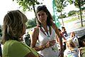 Pia Dijkstra en Annelien Bredenoord bij de D66 Utrecht -Twitnick.jpg