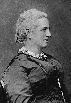 Charlotte Mary Yonge - Charlotte Mary Yonge later in life.