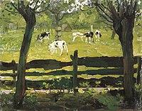 Piet Mondriaan - The white bull calf - A338 - Piet Mondrian, catalogue raisonné.jpg