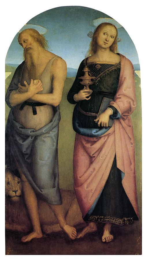 St Jerome and St Mary Magdelen