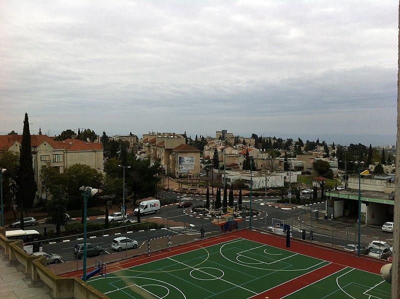 מגרש כדורסל בנצרת עילית