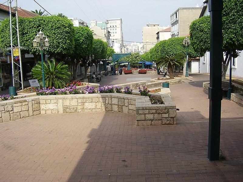 מדרחוב רוטשילד בראשון לציון