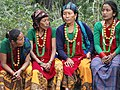 Pilgrims in Indigenous Dress - Lumbini Development Zone - Lumbini - Nepal (13848479775).jpg