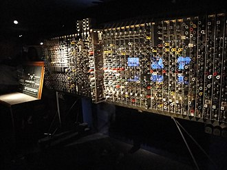 Mike Woodger - The Pilot ACE computer, now in the Science Museum, London