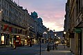 Pink sunrise at Regent Street, London.jpg