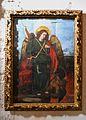 Pintura de sant Miquel Arcàngel al cor baix del monestir de la Trinitat, València.JPG