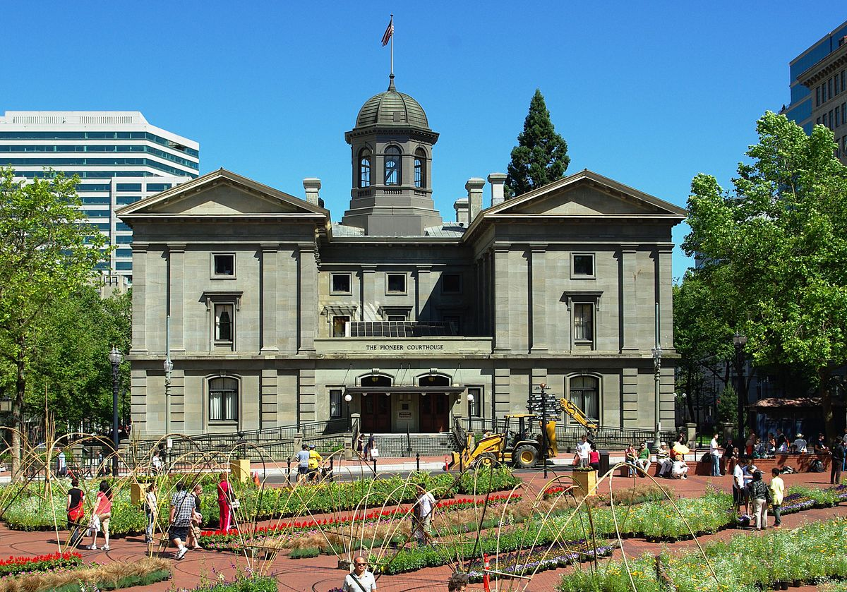 pioneer courthouse wikipedia. Black Bedroom Furniture Sets. Home Design Ideas