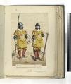 Piquero; Mosquetero. Regimiento de Gauardias de infanteria de Felipe IV. Casa real. (1660) (NYPL b14896507-87483).tiff