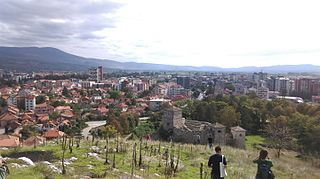 Pirot City in Southern and Eastern Serbia, Serbia