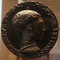 Pisanello, Prima medaglia di Lionello d'Este, 1441-1443.JPG