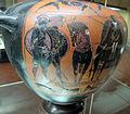 Pittore del louvre f51, hydria con quadriga e guerrieri, 550-540 ac ca. 04.JPG