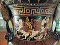 Pittore di baltimora, cratere a volute apulo con amazzonomachia, storie di achille ed ettore, 330 ac ca. 04.JPG