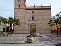Plaça i església de Benimàmet.JPG