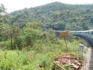 Sakleshpur Hill Station in Karnataka, India