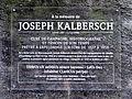Plack Joseph Kalbersch, Ierpeldeng.jpg