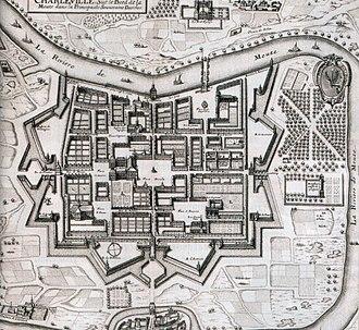 Charleville-Mézières - Charleville in 1625