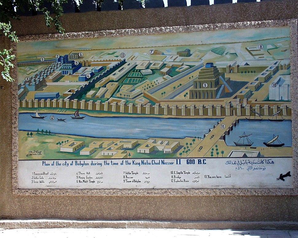 Plan of Babylon RB
