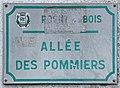 Plaque Allée Pommiers - Rosny-sous-Bois (FR93) - 2021-04-15 - 1.jpg