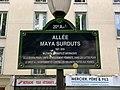 Plaque allée Maya Surduts Paris 2.jpg