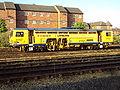 Plasser & Theurer ballast tamper, Chester Railway Station - DSC05883.JPG