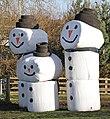 Plastic covered Bale Snowmen 2 (30993433773).jpg