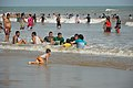 Playful People with Sea Waves - New Digha Beach - East Midnapore 2015-05-01 8714.JPG