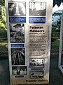 Plaza Cuartel Museum historical marker for the Palawan Massacre.jpg